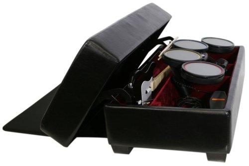 Amazon.com: AK Rock Box Gaming and Storage Ottoman with Drum Lift (Black):  Kitchen & Dining - Amazon.com: AK Rock Box Gaming And Storage Ottoman With Drum Lift