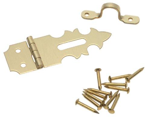 Solid Brass Decorative Hinge - 8