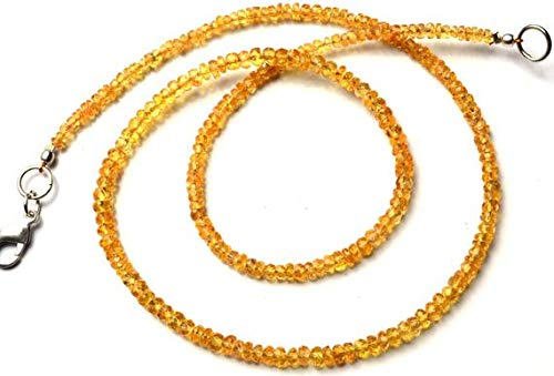 (GemAbyss Beads Gemstone 1 Strand Natural Songea Sapphire 3 to 3.5MM Facet Rondelle Beads 16 Inch Long Long Code-MVG-11335)