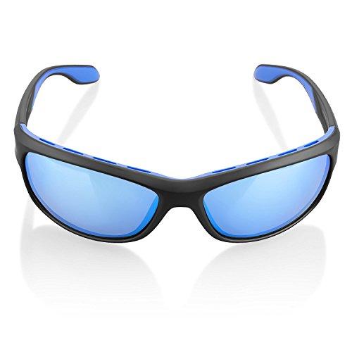 ilikable HD Polarized Sports Sunglasses 100% UVA/UVB Protection Cycling Golfing Hiking Eyewear Glasses for Men Women - - Sunglasses For Golfing