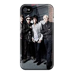 High Quality Mobile Cover For Iphone 4/4s With Custom Lifelike Rolling Stones Series SherriFakhry