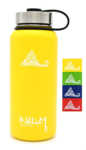 KuLM Outdoors 32oz Vacuum Insulated Water Bottle (Alabama Insulated Bottle)