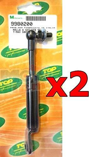 Lote amortiguadores resortes asiento Yamaha Tmax 500 y 530: Amazon.es: Coche y moto