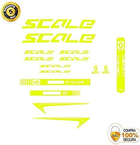 Autocollant d/écoratif de v/élo Autocollants de v/élo Ensemble dautocollants de v/élo en Vinyle Scott 2 Autocollants Cadre v/élo