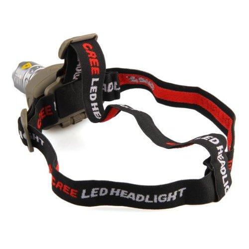 Ecloud ShopUS® 3 pieces CREE Q5 LED Flashlight Headlamp Head Light Lamp 300 Lumens