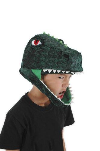 Green Gorilla Adult Costumes (elope T-Rex Dinosaur Hat)