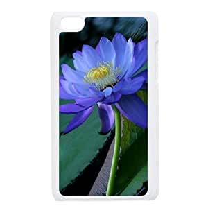 QSWHXN Phone Case Water Lily,Customized Case For Ipod Touch 4