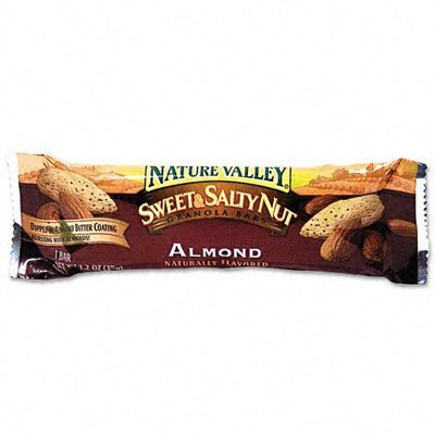 ~:~ ADVANTUS CORPORATION ~:~ Granola Bars, Sweet & Salty Nut Almond Cereal, 1.5oz Bar, 16/box by Nature Valley ()