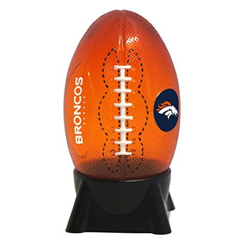 NFL Denver Broncos Football Shaped Night Light