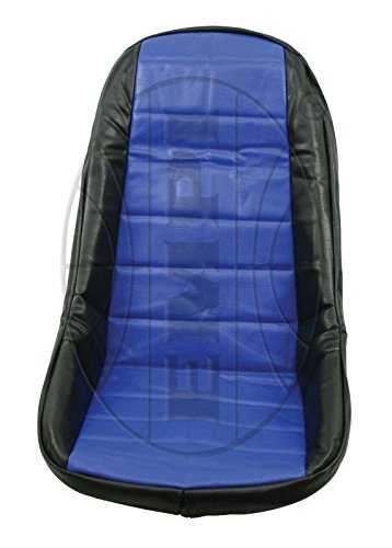 Empi 62-2612 Blue Vinyl Low Back Bucket Seat Cover. Dune Buggy Vw Baja Bug, Each ()