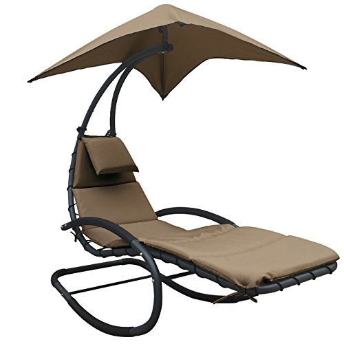 Sun lounger chaise lounge chair patio backyard outdoor for Outdoor furniture jeddah