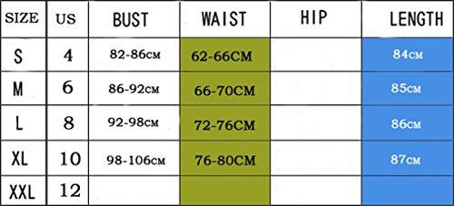 Camicia Giovane Abito Puro Vestiti Taglie Donna Corti Scollo Cocktail Corte Forti Eleganti Tunica V Colore Lunga Estivi Ragazze Manica Dress Orlo Irregolare Casual Abiti Chiffon Partito Per Vestito Blu w8qHvEq