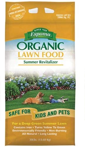 Espoma EOSR30 Organic Summer Fertilizer, 30-Pound (Best Lawn Fertilizer For Summer)