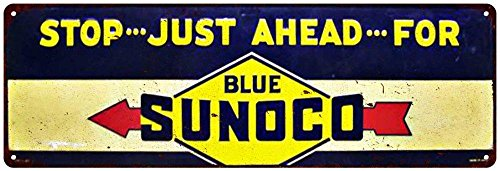 blue-sunoco-just-ahead-vintage-look-reproduction-metal-6x18-sign-6180295