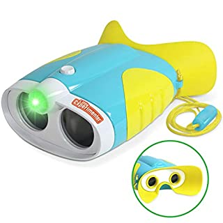 Night Vision Binoculars for Toddlers and Kids with 2X Magnification and Soft, Comfy Viewfinder