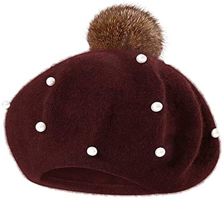 328210b76662b Clearance Baby Pom Pom Beanie Hats - Iuhan Infant Toddler Baby Kids Boys  Girls Pearly Ball Beanie Winter Warm Hat Cap Photography Prop Christmas  Gift for ...