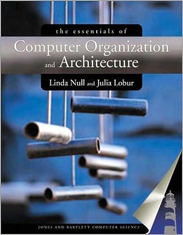 Essentials Of Computer Organization And Architecture Null Linda 9780763704445 Amazon Com Books
