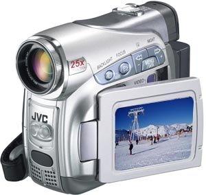 JVC GR-D290AG VIDEO CAMCORDER PAL 25X OPTICAL ZOOM (Jvc Digital Video Camera Dv Mini)