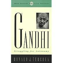 Gandhi: Struggling for Autonomy