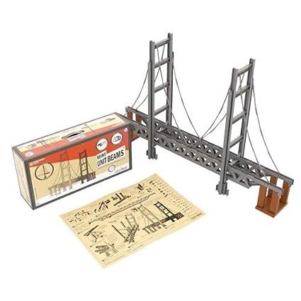 Amazon com: Unit Bricks 620 PCS Bridge Building Classroom