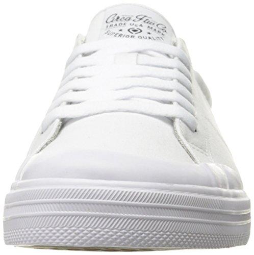 C1rca Hommes Fremont Chaussure De Skate Légère Et Durable Low Profile Blanc / Gris