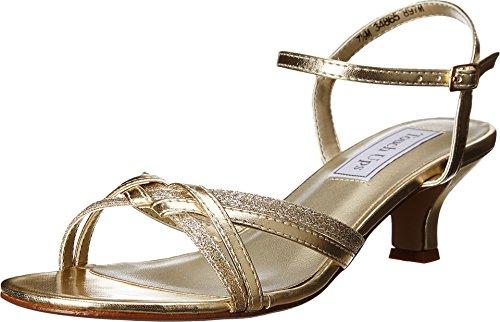 Touch Ups Women's Melanie Dress Sandal, Gold, 7.5 W US (Melanie Gold)