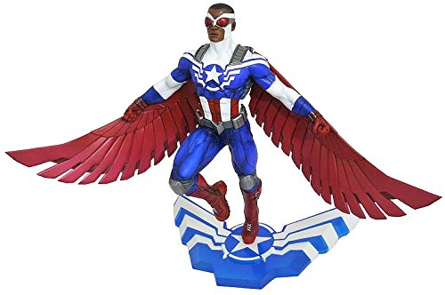 DIAMOND SELECT TOYS Marvel Gallery: Captain America Sam Wilson PVC Figure