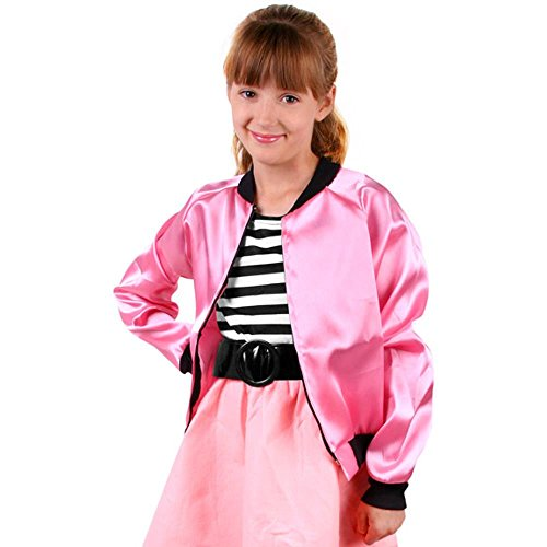Child's Satin Poodle Costume Jacket (Medium 8-10)