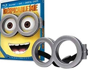 Cover Image for 'Despicable Me LIMITED EDITION With Goggles Includes Blu-ray, DVD and Digital Copy'