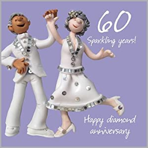 60th wedding anniversary cards