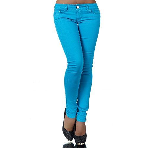 R Jonaco - Vaqueros - skinny - para mujer Azul