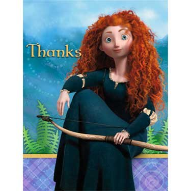 (Hallmark Disney's Brave Thank-You Notes (8 Count))