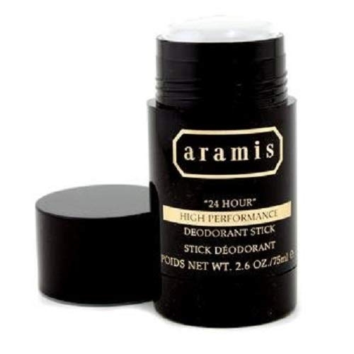 - Aramis 24 Hour High Performance Deodorant Stick, 2.6 Ounce