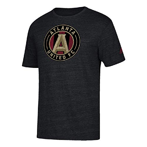 - adidas Men's Atlanta United Vintage Black Heathered T-Shirt (M)