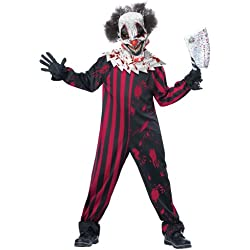 California Costumes Killer Klown Child Costume, Medium