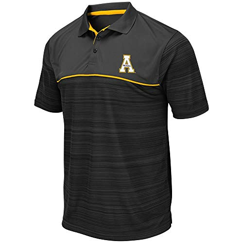 Mens Appalachian State Mountaineers Levuka Polo Shirt - L Appalachian State Mountaineers Golf