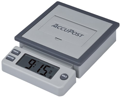 AccuPost PP-110 Desktop Postal Scale with USB Cable - 10 lbs. 10 Lb Usb Scale