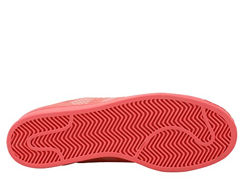 Adidas Originals SUPERSTAR WEAVE Scarpe Sneakers Rosso per Unisex