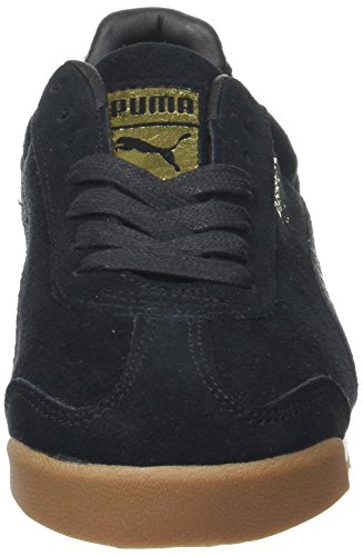 Puma Roma White black whisper Zapatillas Warmth Unisex Adulto Natural Negro HrdqFxH