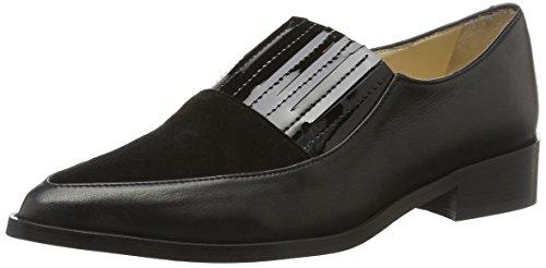 Suède Plates Gardénia Chaussures Pointy Noir velours Noir Femmes Et Copenhague Mocassins O6AaqBn