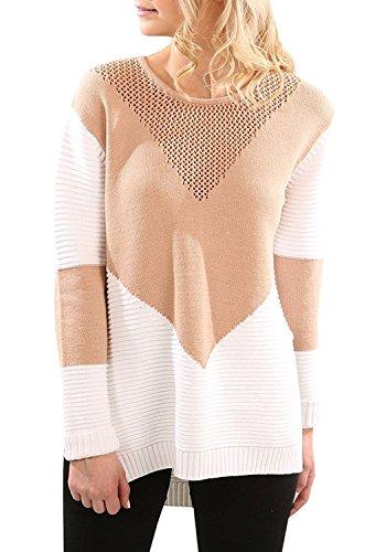 Acrylic Crewneck Sweater - 3