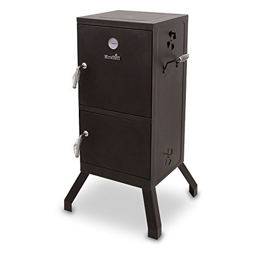 Char-Broil Vertical Charcoal - Smoker Backyard