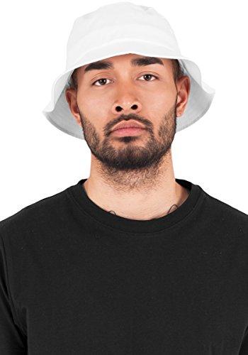Flexfit Mütze Bucket blanco Hat Cotton Sarga Blanco FFrqU