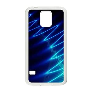 Bright Blue Wave Hot Seller Stylish Hard Case For Samsung Galaxy S5