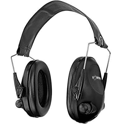 Boomstick Gun Accessories Electronic Safety Ear Muff with 4 AAA