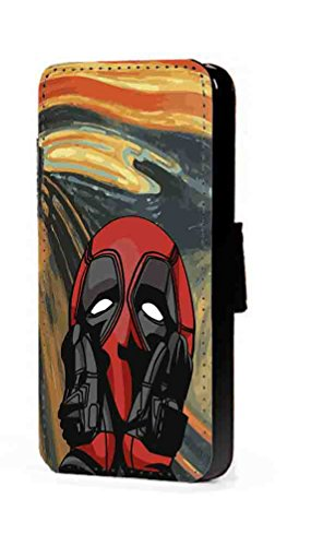Amazon.com: c riveras Deadpool Scream - Funda de piel ...
