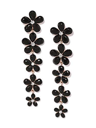 YouBella Gold Plated American Diamond Earrings For Women & Girls