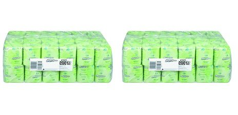 Marcal Pro Toilet Paper 100% Recycled - 2 Ply, White Bath Tissue, 504 Sheets Per Roll - 48 Individually Wrapped Rolls Per Case Green Seal Certified Toilet Paper 05001 (2-(Pack))