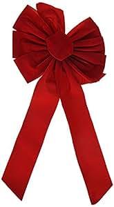 10 x 12-Inch Red Velvet Bow