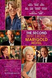 The Second Best Exoctic Marigold Hotel Original 27 X 40 Theatrical Movie Poster